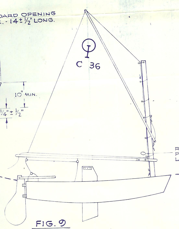 Optimist Boat Plans for Pinterest
