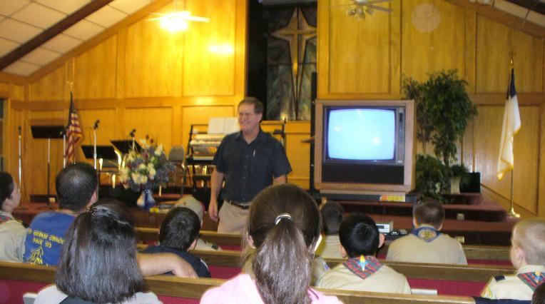 Ten Commandments Hike 2009 Mcallen Texas