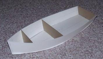 Small Boat: How To Make A Cardboard Boat Small