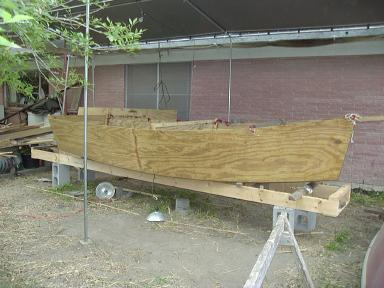 13 foot boat - Construction - part 2
